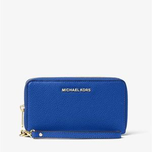 Michael Kors Leather Smartphone Wristlet